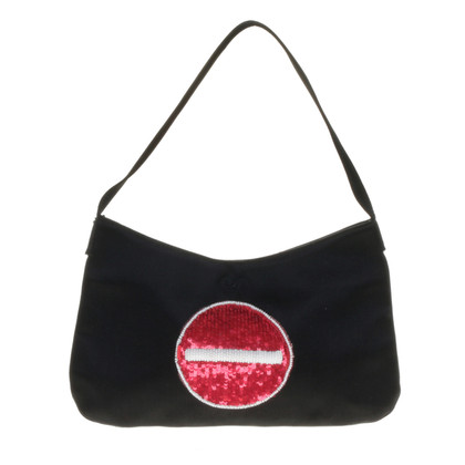 Anya Hindmarch Pochette with embroidery