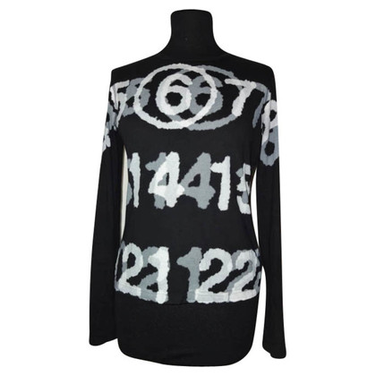 Maison Martin Margiela black long sleeve t shirt