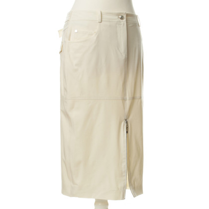 Christian Dior Narrow skirt in cream