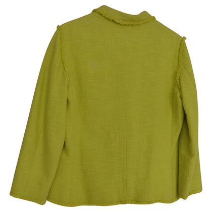 Moschino Cheap and Chic Lime-gelben Blazer