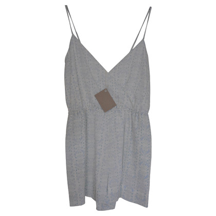 Band of Outsiders Playsuit aus Seide