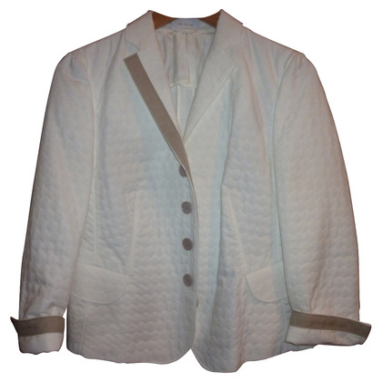 Akris Cream white summer Blazer