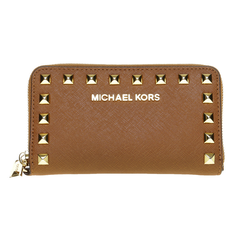 Michael Kors Wallet With Rivets Buy Second Hand Michael Kors - Michael kors porte monnaie