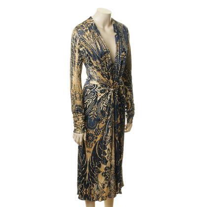 Roberto Cavalli Ornamental patterned dress