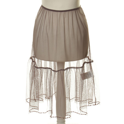 Noa Noa Tulle skirt with sequin trim