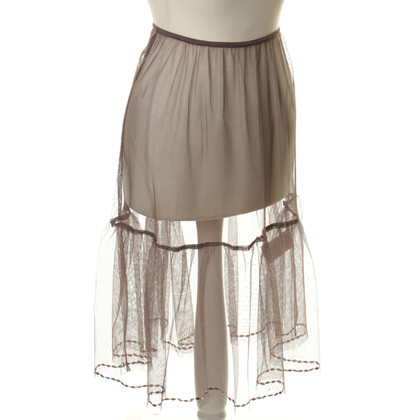 Noa Noa Gonna in tulle con paillettes trim