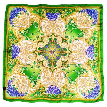 Versace Silk scarf with pattern