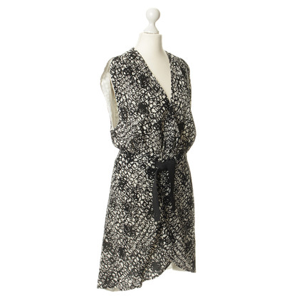Balenciaga Patterned wrap dress