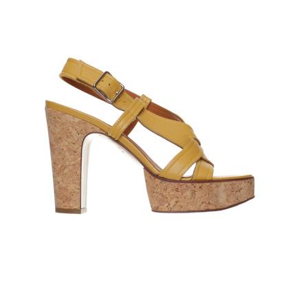 Lanvin  Sandals with Cork heels