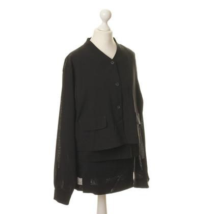 René Lezard Three-piece costume in black
