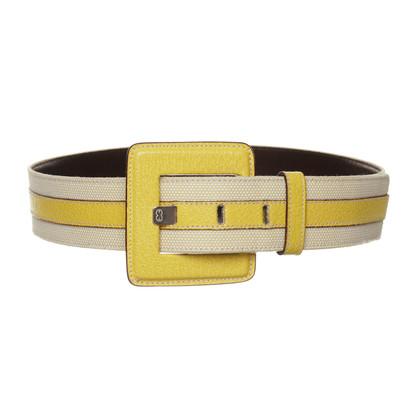 Escada Belt in yellow