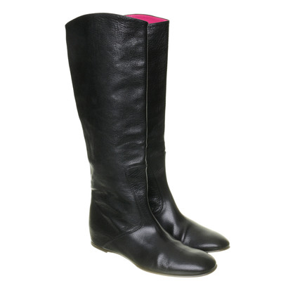 Bottega Veneta Leather boots in black