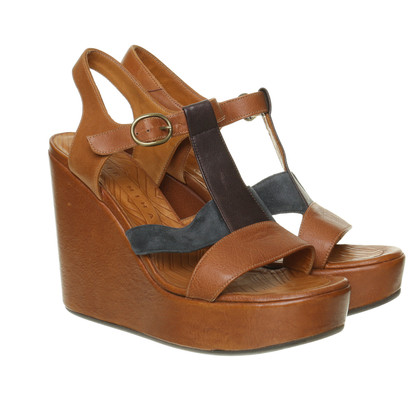 Other Designer Chie Mihara - light brown wedges