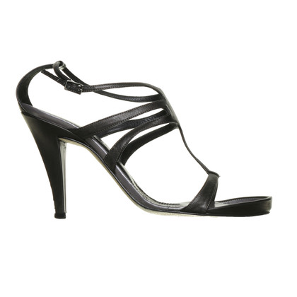Strenesse Anthracite-coloured sandals