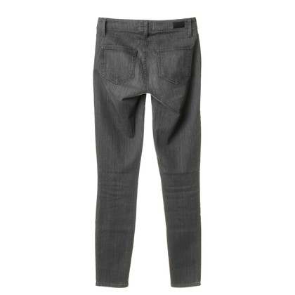 Paige Jeans Jeans with zipper bags in grey