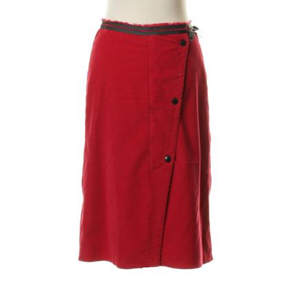 Marc Cain skirt of corduroy