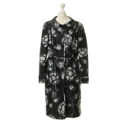 Rena Lange Coat with floral prints