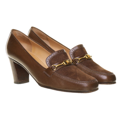Céline Pumps in Braun