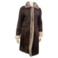 Other Designer  Lambskin jacket with mink collar
