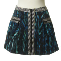 Kenzo skirt with pattern mix