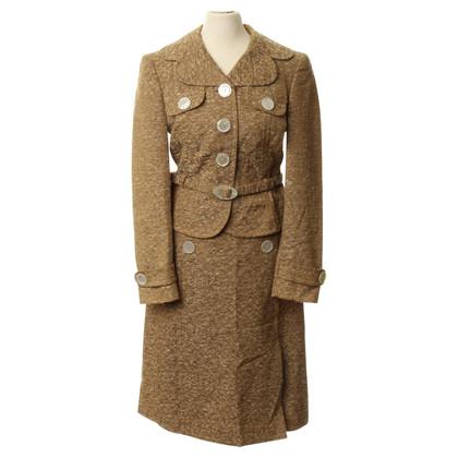 Rena Lange Costume con pulsanti di perlmuttfarbenen
