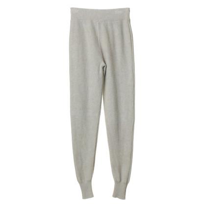 Alexander Wang Pantaloni di maglia grigio