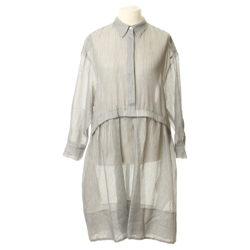 Stella McCartney Gestreiftes Blusenkleid