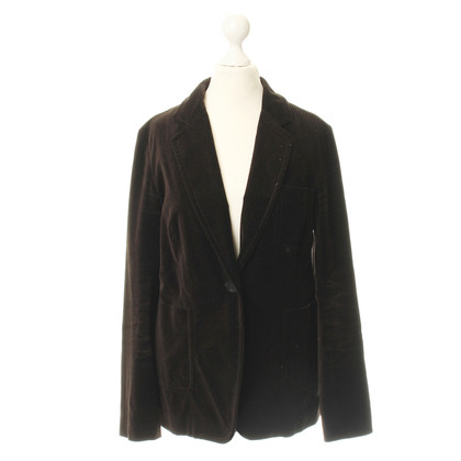 Burberry Blazer in Velvet look