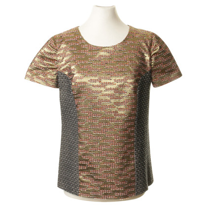 Matthew Williamson Shirt in de metalen patroon mix