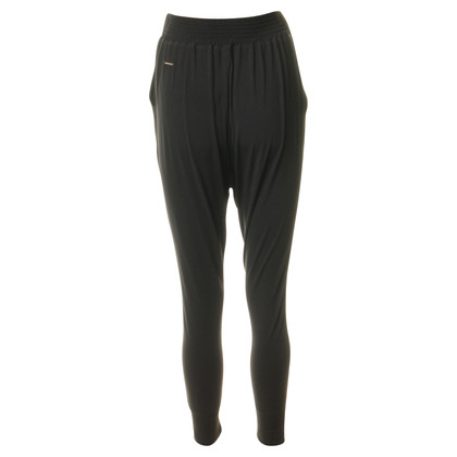 Elisabetta Franchi Zwarte harem broek broek