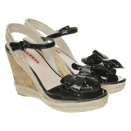 Prada Wedges made of leather