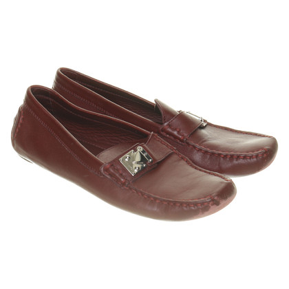 Louis Vuitton Loafer aus Leder