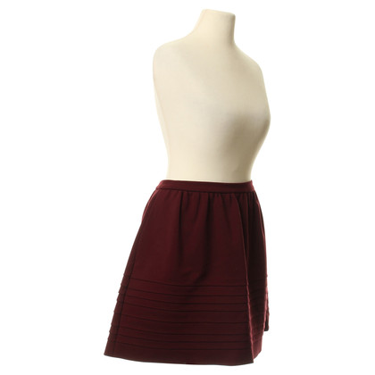 Maje skirt in Bordeaux
