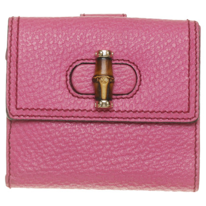 Gucci Pinkfarbenes Portemonnaie