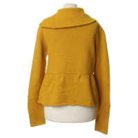 René Lezard Knit Jacket with peplum