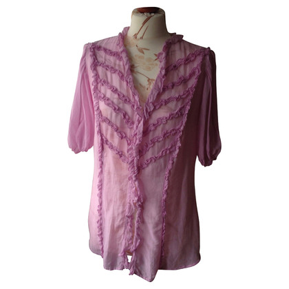 Boss Orange Pink summer blouse