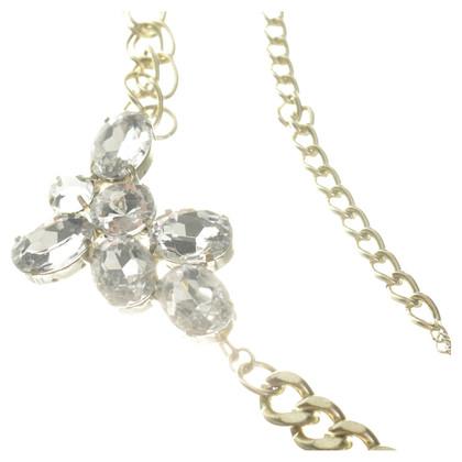 Schumacher Statement necklace with semi-precious stones