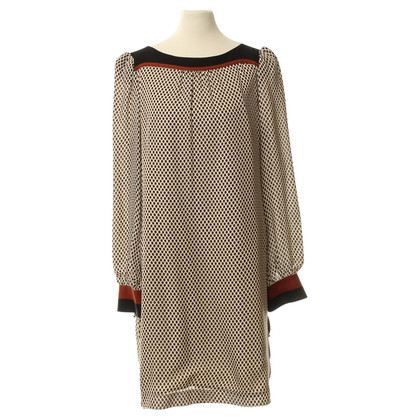 Hoss Intropia Dress with pattern and decorative buttons