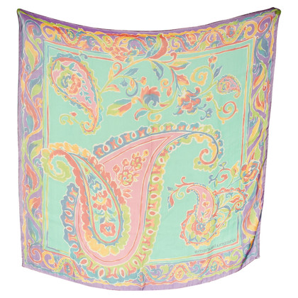 Emanuel Ungaro Cloth with a Paisley motif