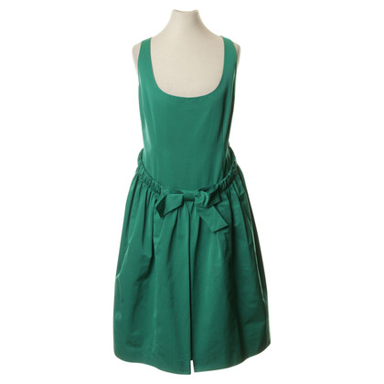 Moschino Cheap and Chic Cocktail jurk in emerald groen