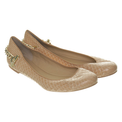Rachel Zoe Ballerinas with chain detail
