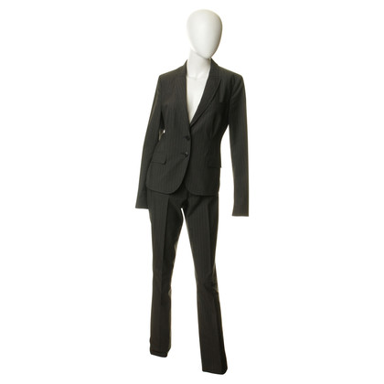 Drykorn Trouser suit with pinstripes
