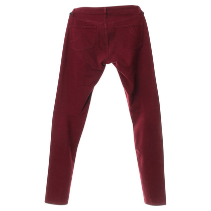 Maje Trousers Bordeaux