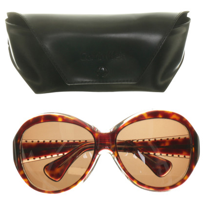 Calvin Klein Sonnenbrille mit Strass-Steinen