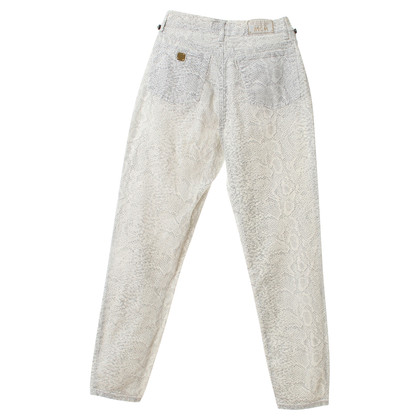 MCM Snake print jeans