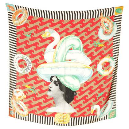 Moschino Cloth with retro-print