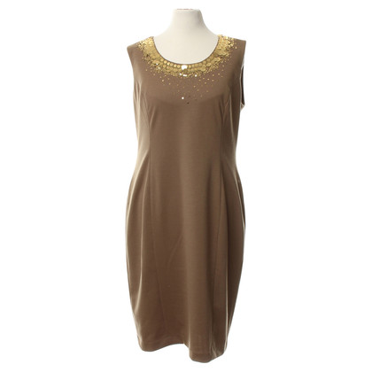 Calvin Klein Sheath dress with sequins decoration