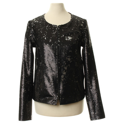 Faith Connexion Sequin jas in antraciet