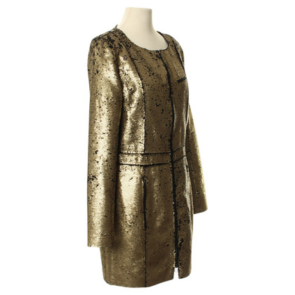 Faith Connexion Sequin jacket in gold