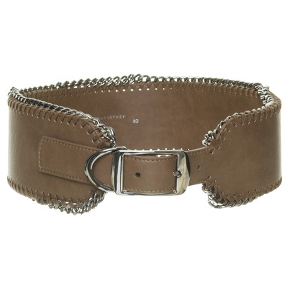Stella McCartney Belt with chain trim